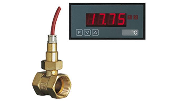 Messbereich: -40 ... 150°C Anschluss: G &frac14&#x3b; ... G 1 Anschlussmaterial: Messing oder Edelstahl Ausgang: NTC oder Pt1
