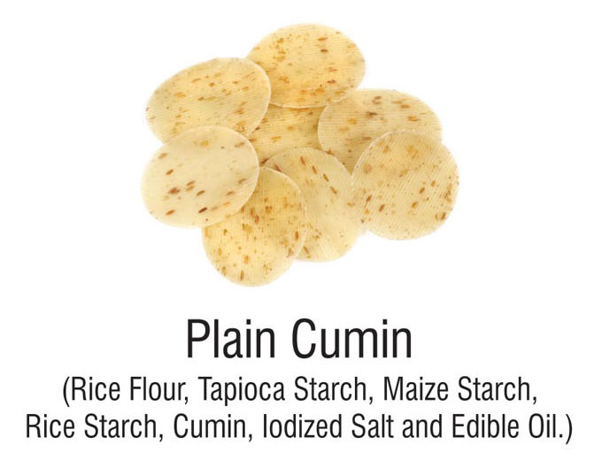 Masala Based Single Layered Papad ( Snacks Pellets)