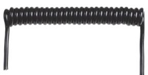 Spiralkablar används inom olika områden där kabelns längd måste vara flexibel. Ledarna på våra spiralkablar är PP- (poly