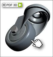 Neu bei Blickle: 3D Produktansicht ohne CAD-Programm