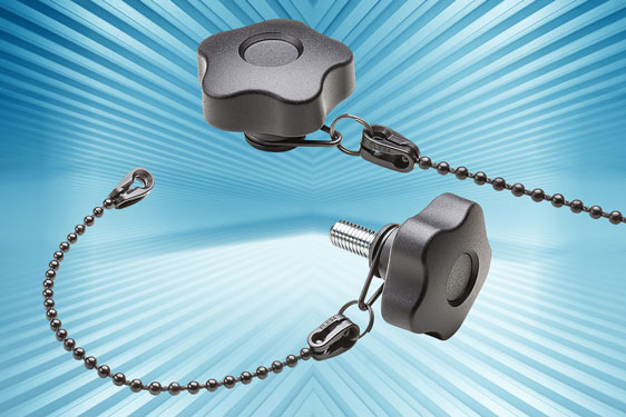 New VCT-LP series retained lobe knobs from Elesa