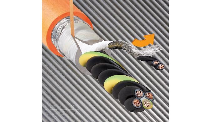 30 Prozent Installationszeit gespart dank neuer igus Paarschirmaufbauten in chainflex Servoleitungen  Leitungen einfach