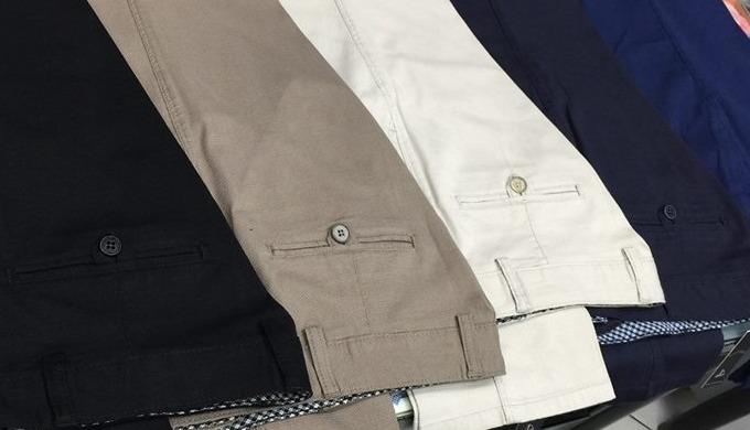 Coton / lycra pantalon-hommes