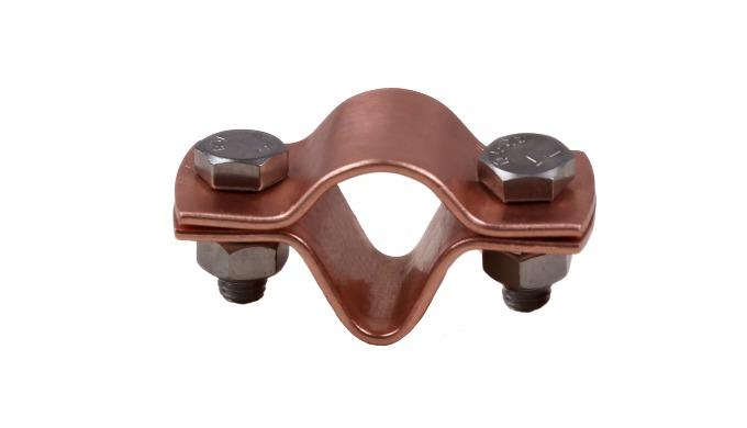 C Clamp Material: Copper K Clamp Material: Copper M Clamp Material: Copper Different diameters available.