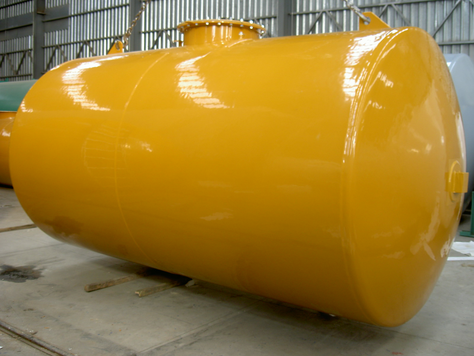Atmospherical Storage Tanks for fuel liquids