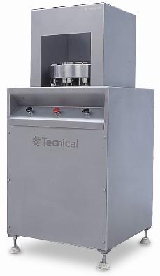 La cortadora en cuñas diviform, está destinada a pequeñas y medianas producciones, consta de un sistema semiautomático p