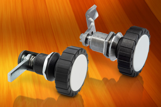 Elesa's MDA-LS-SST is a rugged compression lever latch in stainless steel with a glass reinforced polyamide hand knob. I