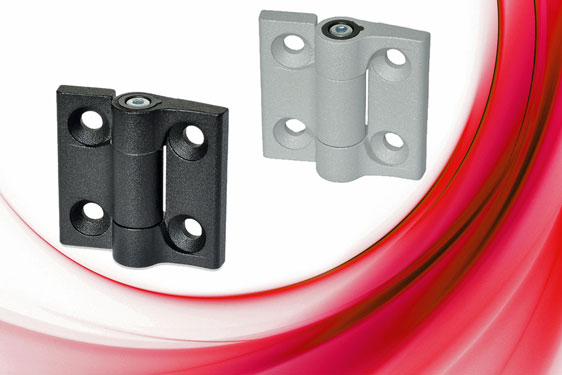 The Elesa CMUF 270° hinge supports flaps, panels, hatches and doors in a desired position against the effect of gravity