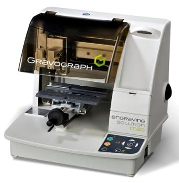 Equipo más pequeño que una impresora de sobremesa, puede personalizar multitud de objetos. Se trata de un sistema de gra