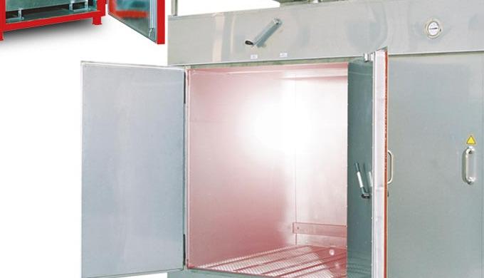 Wärmekammern dienen der thermischen Behandlung von Stoffen und Materialien, z.B. zur Viskositätswandlung Trocknung Behei