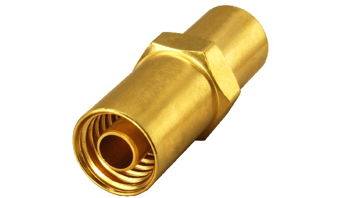 Brass CO2 Hose Fitting