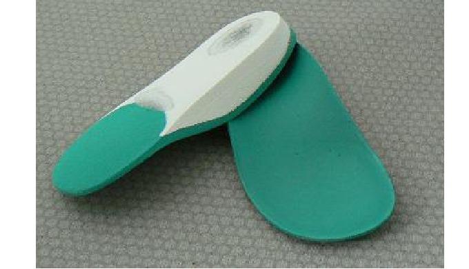 Plantillas termoconformadas para el pie plano
