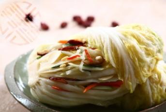 Premium cabbage head kimchi