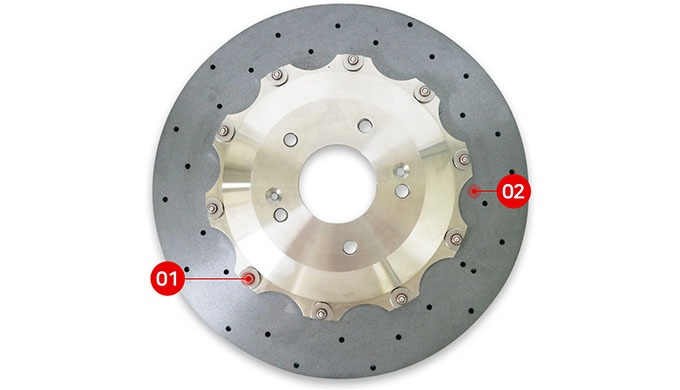 STOLZ ULTRA LIGHT DRILLED DISC ROTOR ㅣ Brake system parts and