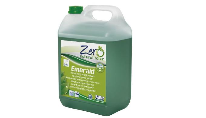 EMERALD - 5L - Détergent concentré autolaveuses - naturel - gamme ZERO