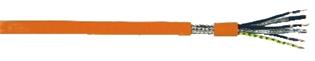 Elproservo 801 C är en högflexibel kombiledning för rörlig anslutning av servomotorer i t ex kabelsläpkedjor. Det karakt