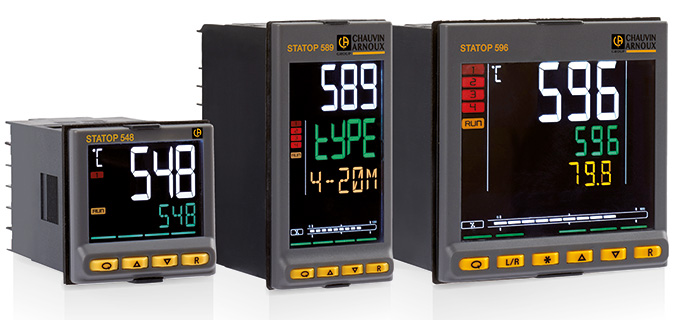 The PID controllers STATOP 500 series form a family of products designed to regulate the temperature and other physical