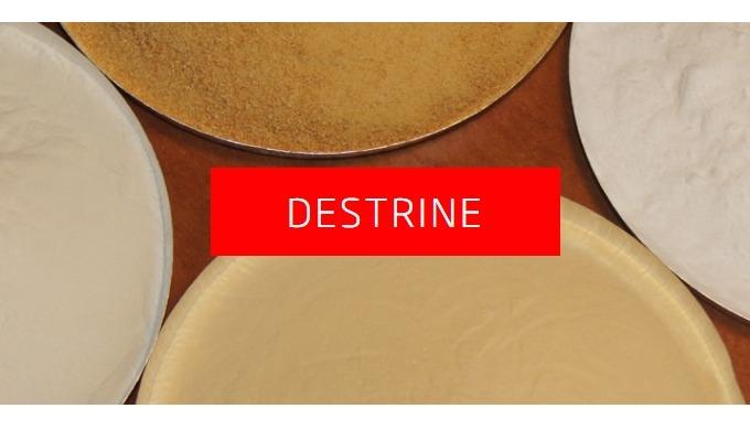 Dextriny, bílý dextrin, žlutý dextrin, pojivo, plastifikátory