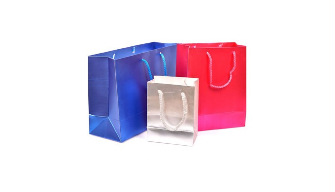 PROMOTIONAL PAPER BAGS WITH CUSTOM SIZE AND PRINT