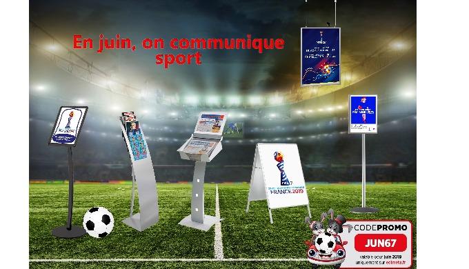 Edimeta soutient l'équipe de France et communique sport !!