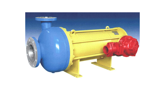 Leak-proof centrifugal electric pumps.