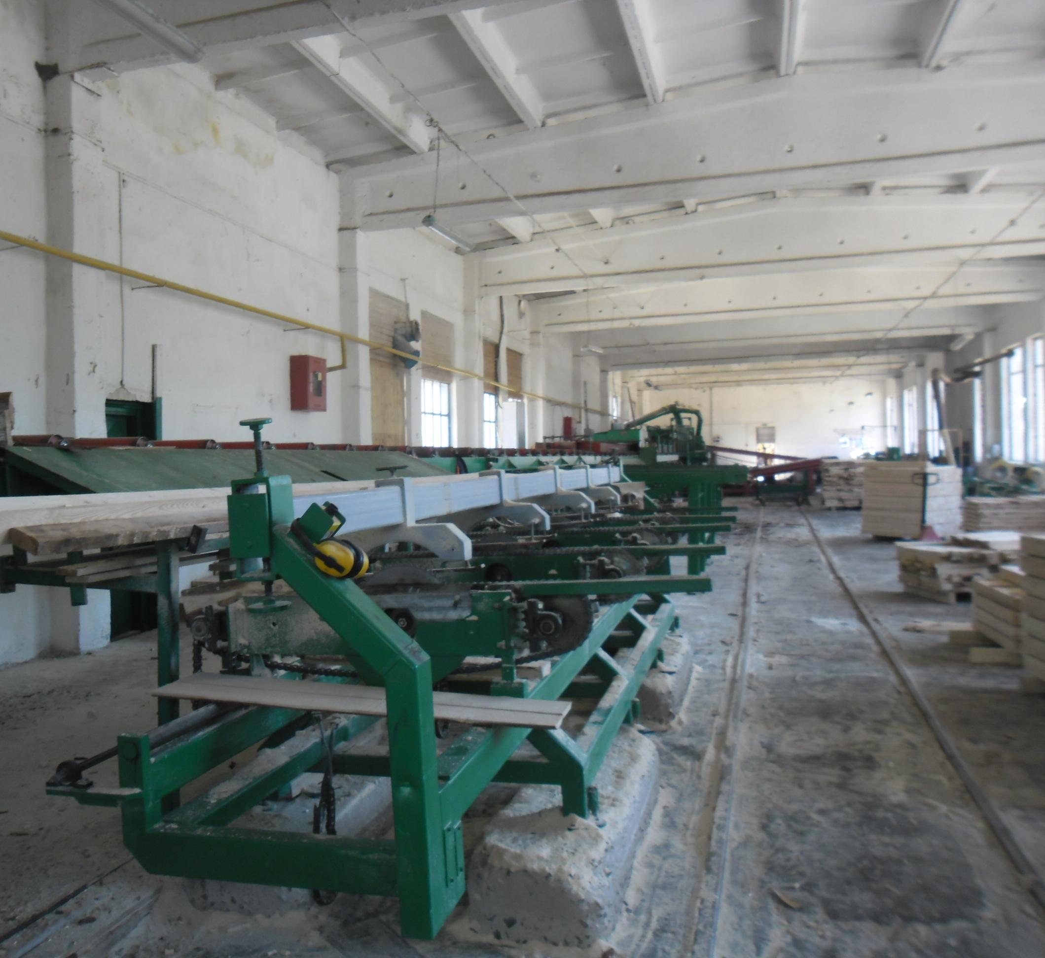 Линия по переработке древесины «MEBOR».