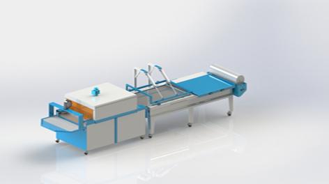 K5 Yarı Otomatik L-Kesim Tünelli Shrink Ambalaj Makinası