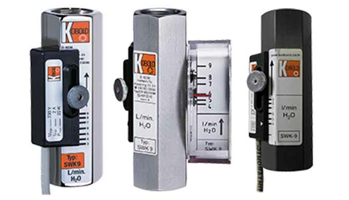 Schaltbereich: 0,05 - 0,1 ... 13 - 24 l/min Wasser Anschluss: G &frac12&#x3b; IG Material: Messing, Edelstahl, PVC pmax: 250