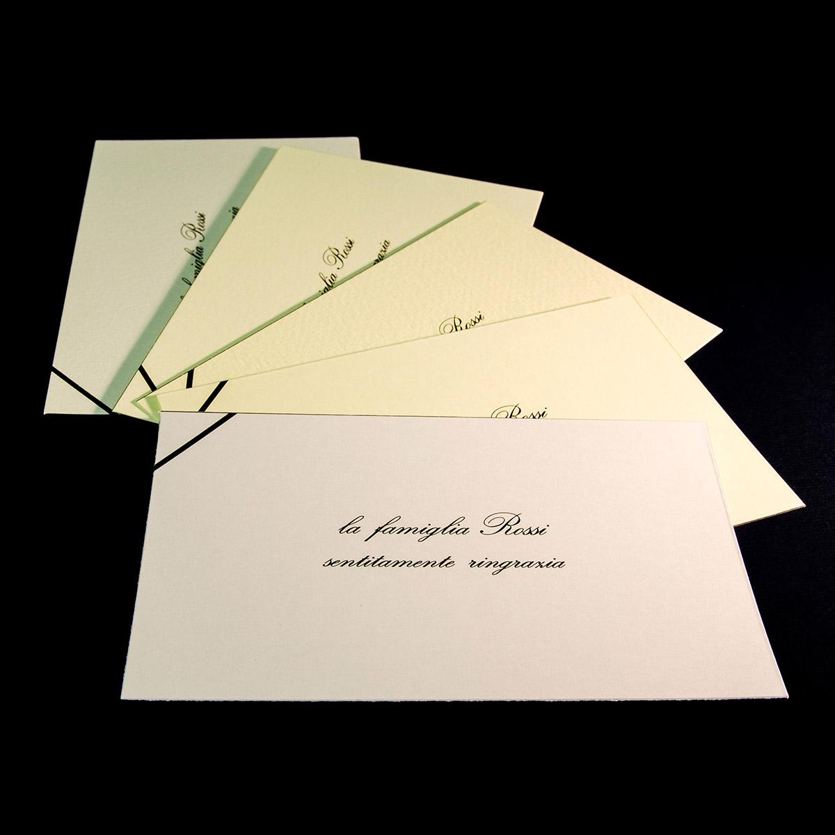Biglietti di ringraziamento a lutto da tipografia vittoria for Frasi di conforto per lutto