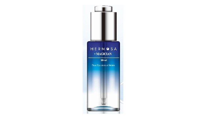 HERMOSA Magician (Pure Hyaluronan Serum) is a serum made using only low molecular weight hyaluronic acid. Pure hyaluroni