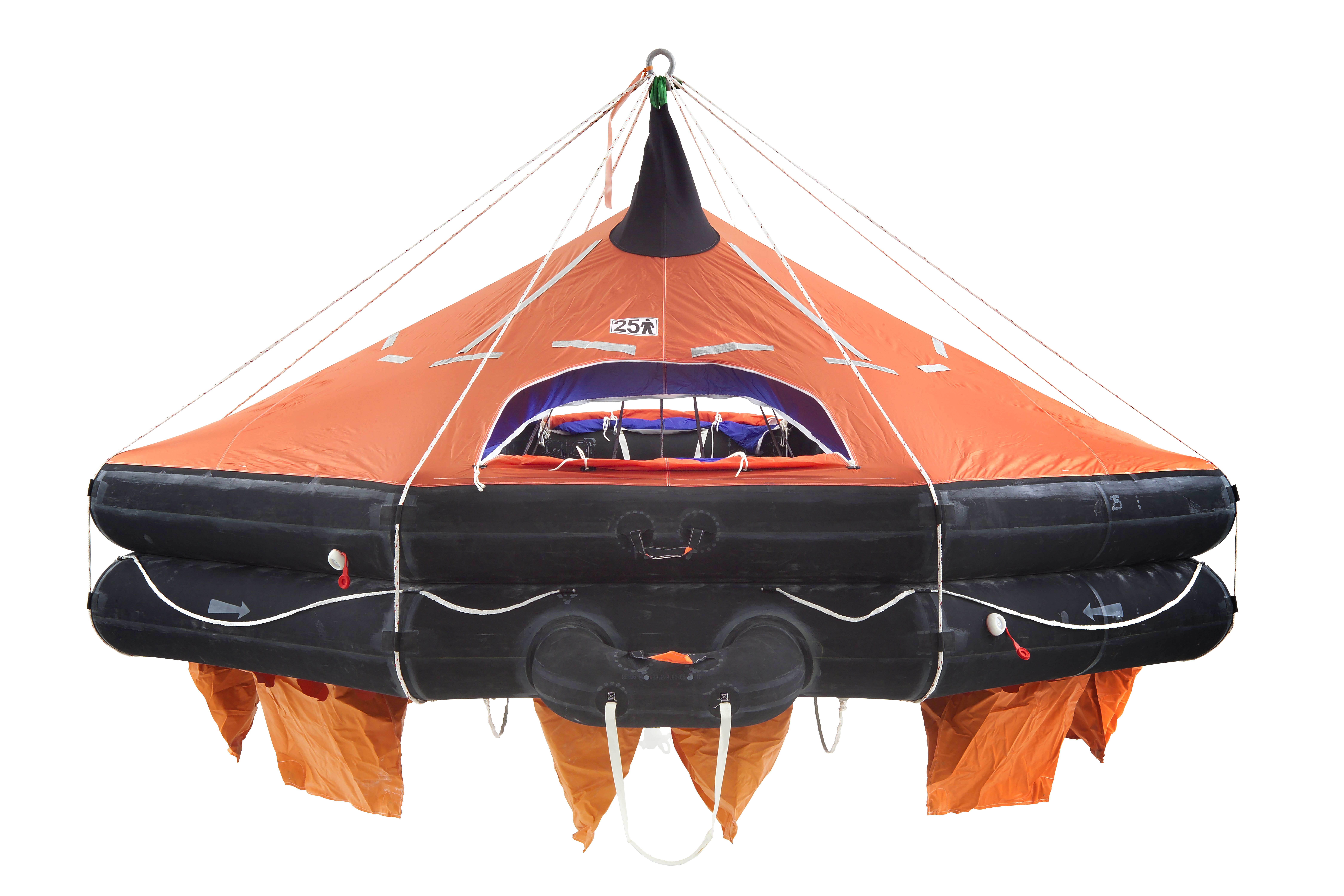 VIKING DAVIT-LAUNCHED LIFERAFT