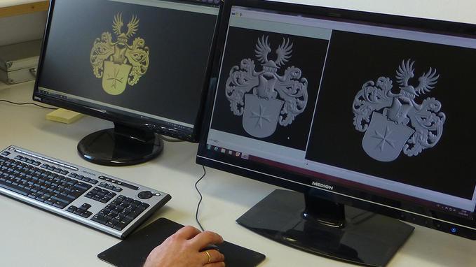 Soluciones de software para las aplicaciones de CAD/CAM de precisión: grabado, marcaje, corte, bajorrelieve 3D para las