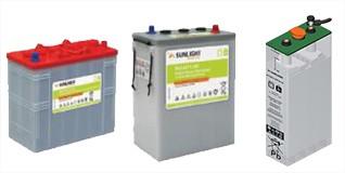 Batteries pour applications solaires Maroc