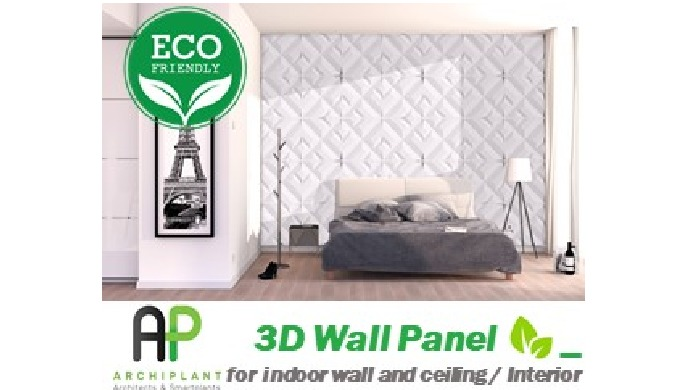 3D wall panels - DIAMOND