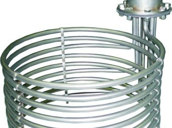 Heaters with Immersion Electric Heating Elements for the Food Industry