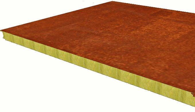 Nuevo producto en Paneles ACH - Panel Acero Corten