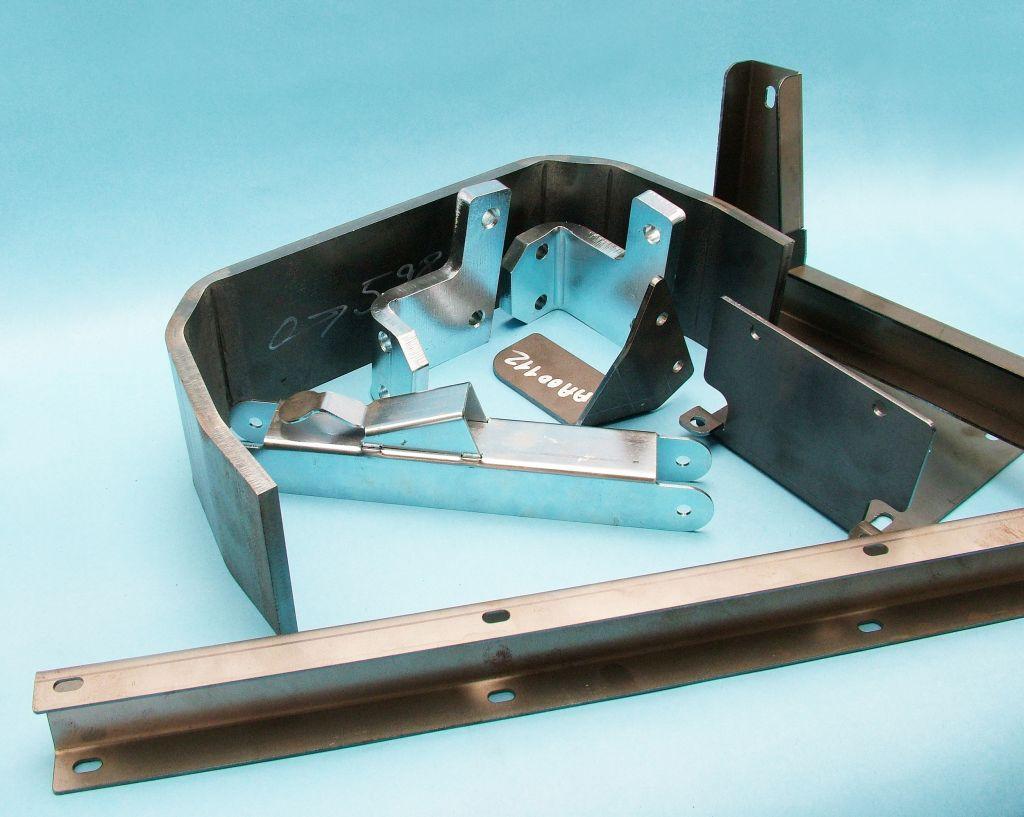 Precizní ohýbání a tváření ocelových i neželezných profilů