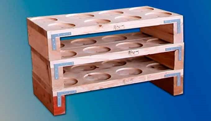 Las soluciones mecanizadas en madera para embalaje son desarrollos a medida de uso habitual para la protección y manteni