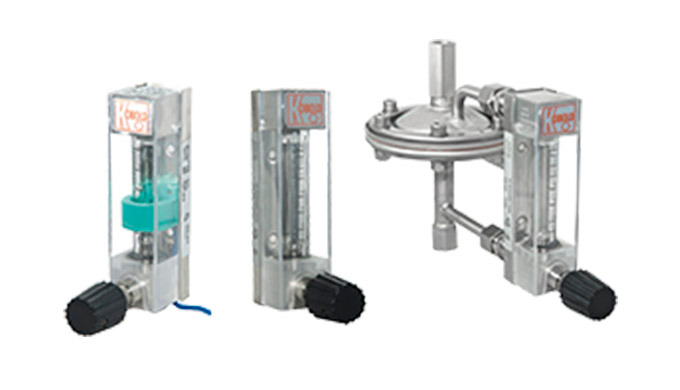 Einbaulänge: 90 mm Messbereich: 0,02 - 0,25 ... 10 - 100 l/h Wasser 2,0 - 20 Nl/h ... 300 - 3000 Nl/h Luft Anschluss: &f