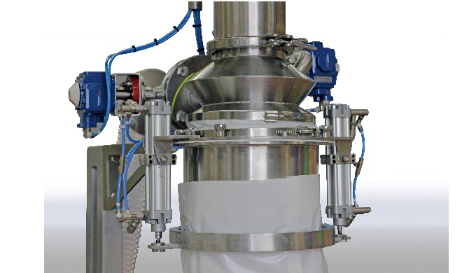 Accurate weight controlled filling systems from Hosokawa Micron Ltd maintain the highest standards of hygiene, dust cont