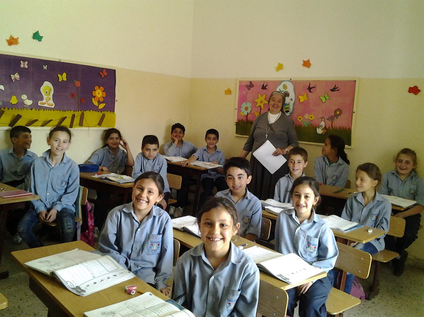 cargo-partner společně s organizací Jugend Eine Welt podporují nemocnici v Sýrii a školu v Libanonu