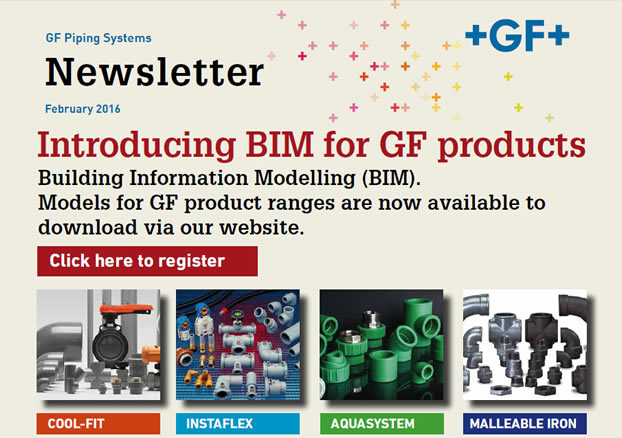 Introducing BIM for GF products - February 2016