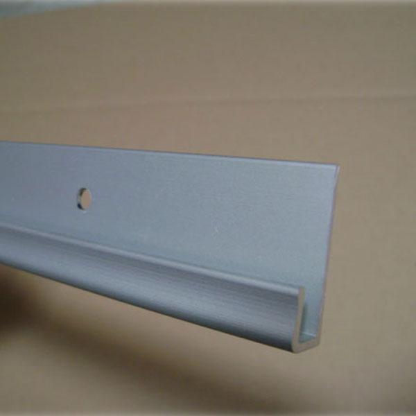 RAIL HORIZONTAL GRIS CLAIR 150 CM