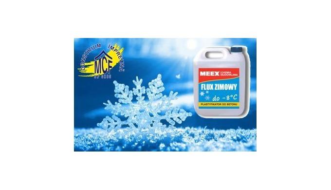 FLUX ZIMOWY - Aditiv antiînghet pentru beton, beton armat şi precomprimat , pentru mortare de var – ciment.