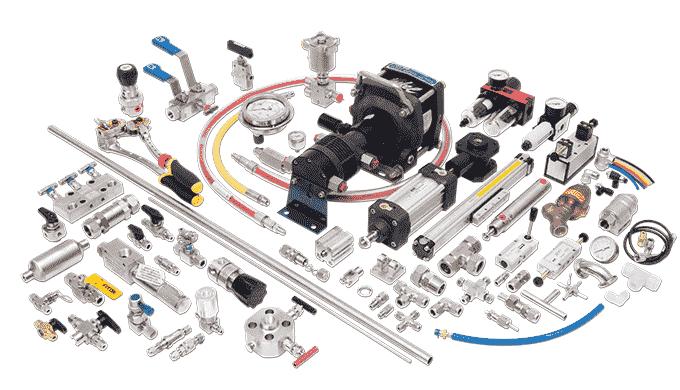 Komponenter Proceskomponenter af høj kvalitet til krævende industrier Vi leverer proceskomponentert af høj kvalitet, som