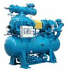Budowa W skład agregatu sprężarkowego wchodzą następujące główne zespoły i układy funkcjonalne: - sprężarka śrubowa - z