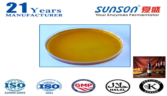 INTRODUCTION Low-temperature α-amylase is made from the strain of Bacillus subtilis through cultivation, fermentation a