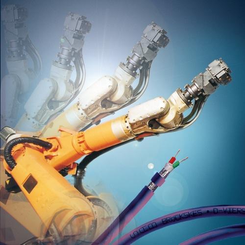 Roboterkabel und Leitungen