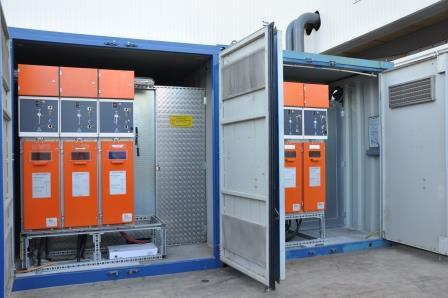 2 X 1000 kVA zur Speisung der provisorischen Eislaufbahn von Malley