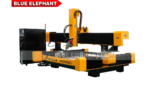 2113 ATC 3D CNC Stone Sculpture Machine with Rotary Device